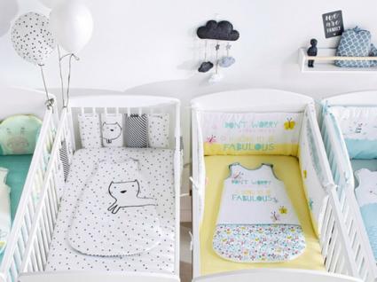 10 Contornos de berço que vão dar uma nova vida ao quarto do seu bebé