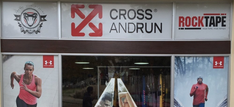 cross and run