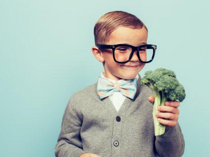 Prós e contras de uma dieta vegan em crianças