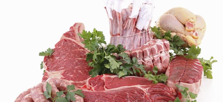 diferentes carnes