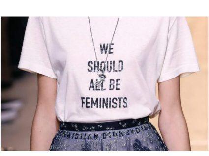 Dior pelo feminismo: a t-shirt do momento