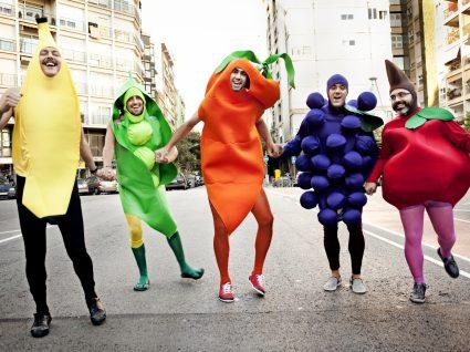 9 Originais disfarces de Carnaval de comida