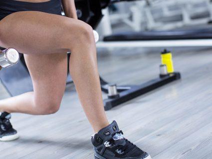 Plano de treino para pernas com 2 circuitos