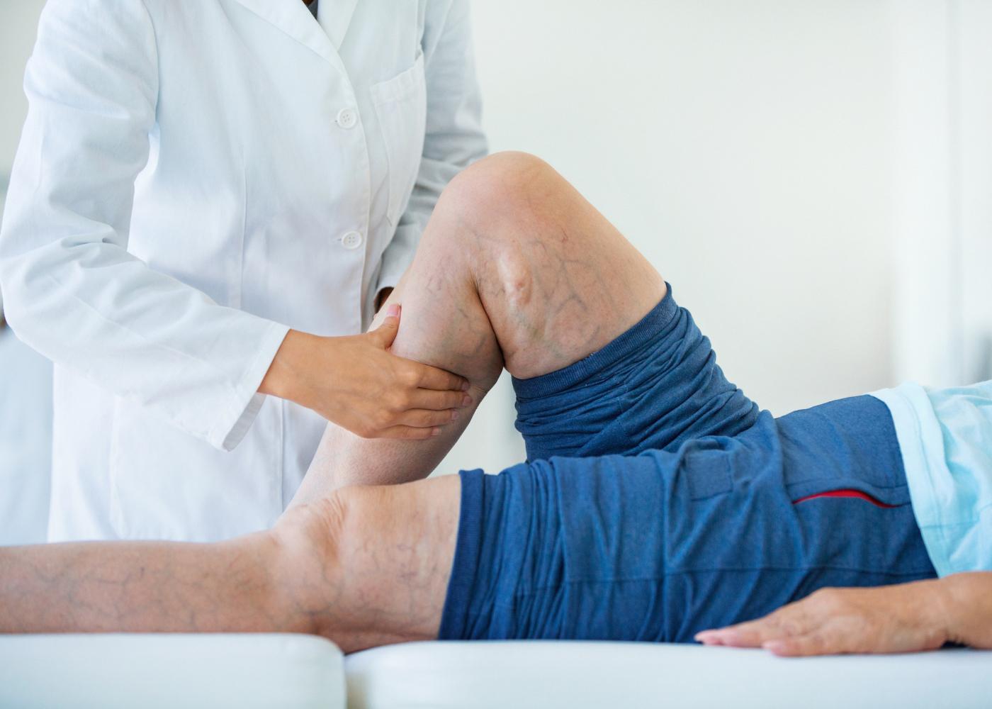 dor nas pernas por má circulação