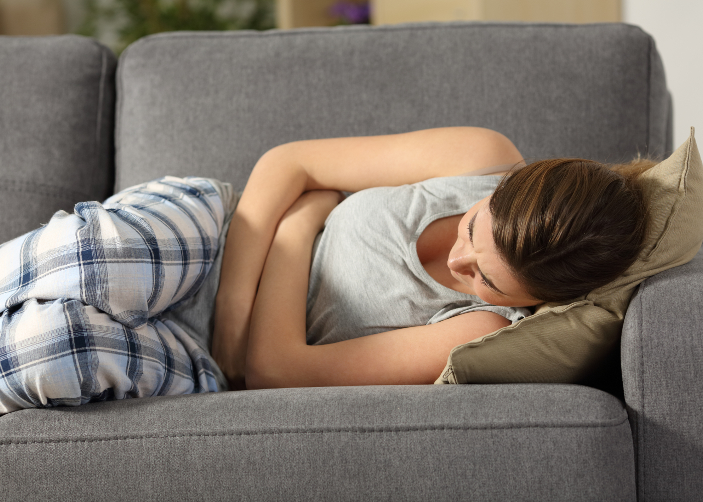 dor no fundo da barriga sintomas