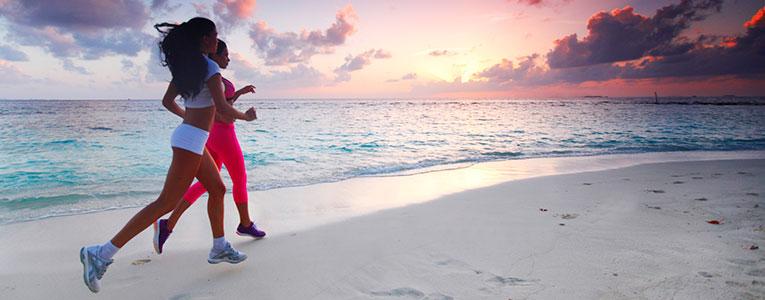 exercicio fisico na praia