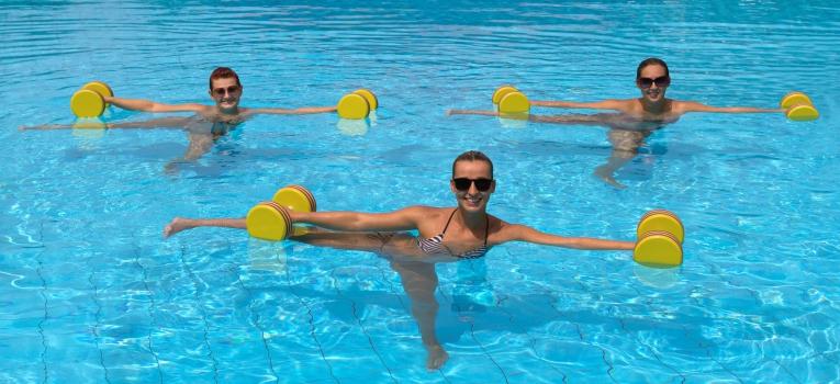 exercicio na agua