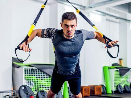 4 Exercícios com TRX para perder peso