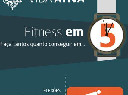 Fitness em 5 minutos - Infográfico