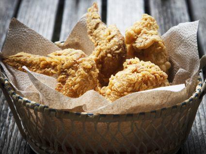 Receitas de frango frito para o dia da asneira