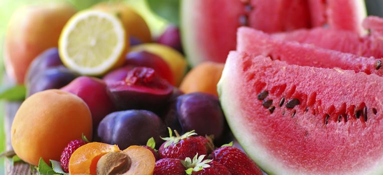Fruta de verão variada