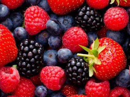 Frutos vermelhos: uma fonte de antioxidantes