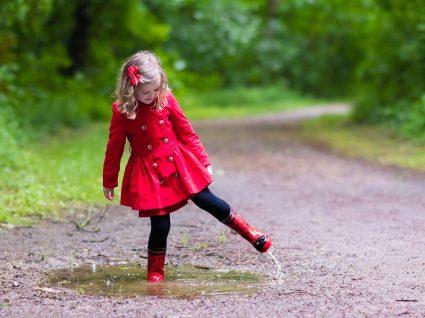 6 Pares de galochas para dançar à chuva