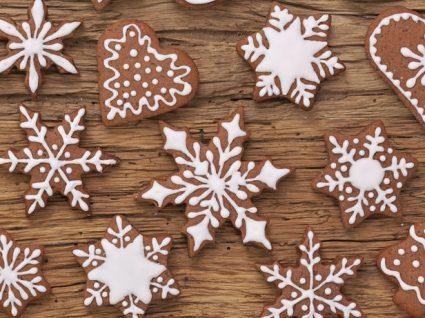 4 Receitas de bolachas de Natal saudáveis