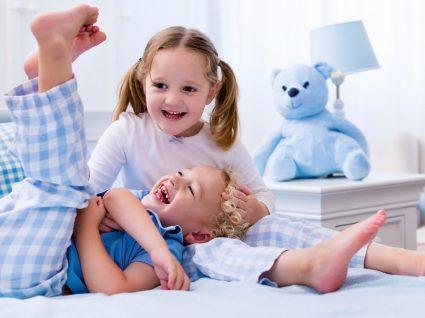 Pijamas para crianças: meninos e meninas prontos para dormir