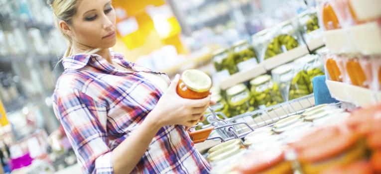 Ler informação nutricional