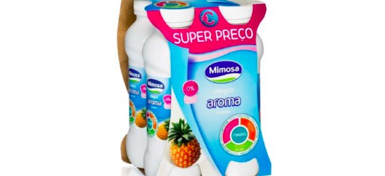 iogurte magro mimosa