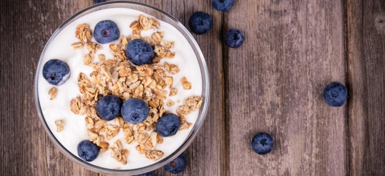 iogurte magro com aveia