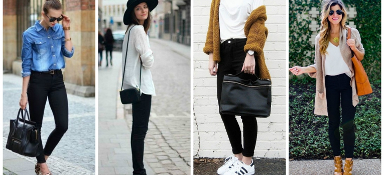 jeans pretos