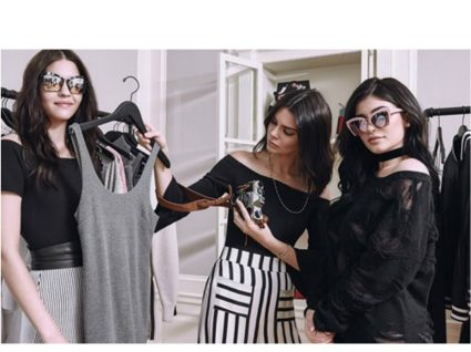Kylie e Kendall Jenner lançam óculos de sol