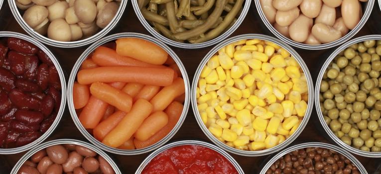 legumes enlatados
