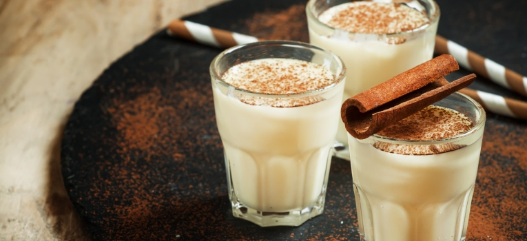 leite com canela