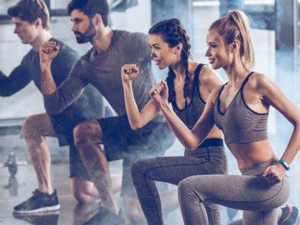 Diferentes tipos de lunges para dinamizar o seu treino
