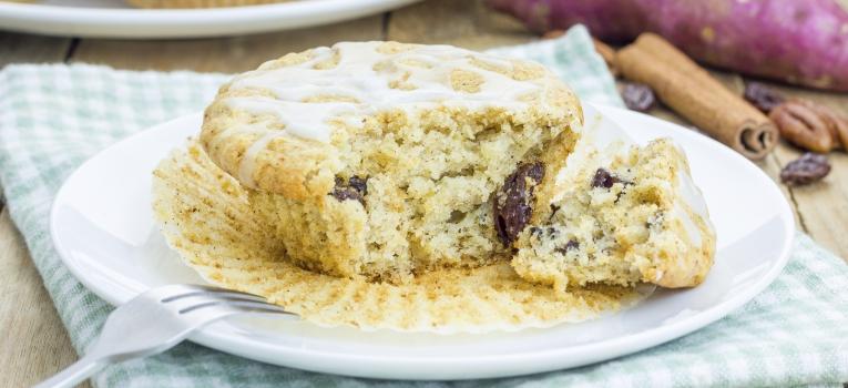 muffin de proteina whey e canela