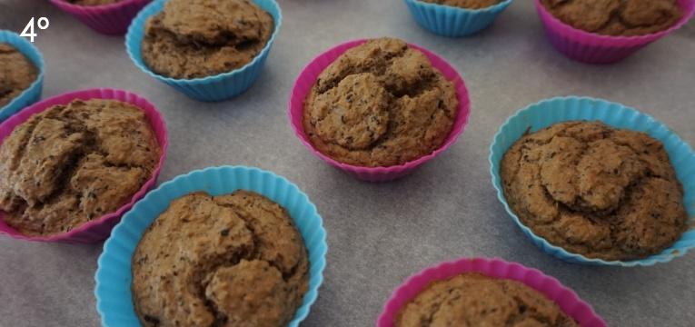 muffins de pescada e feijao preto 4 passo