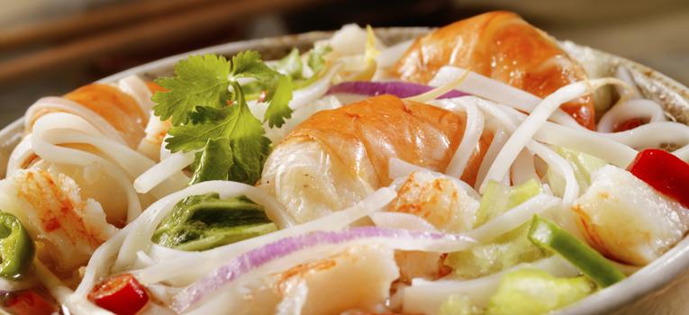 Noodles camarão
