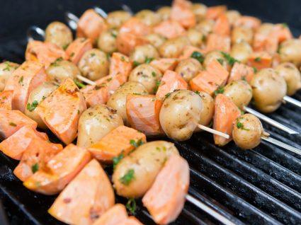 3 Receitas de batata-doce grelhada irresistíveis