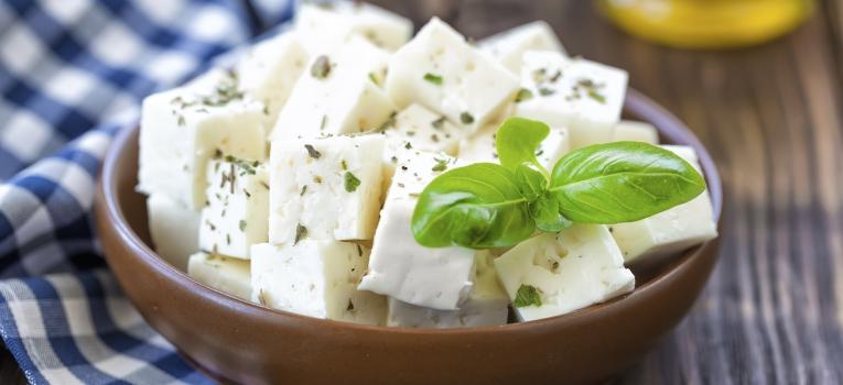 requeijao e queijo cottage