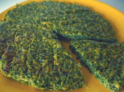 Quiche de espinafres sem massa folhada by Vanessa Alfaro