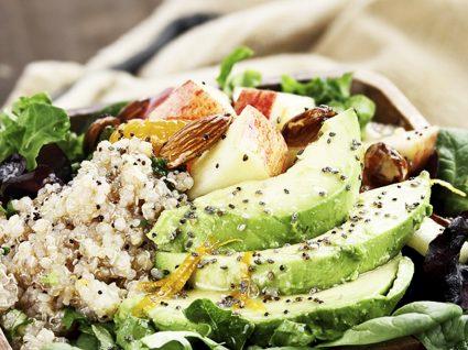 3 Receitas de salada de abacate