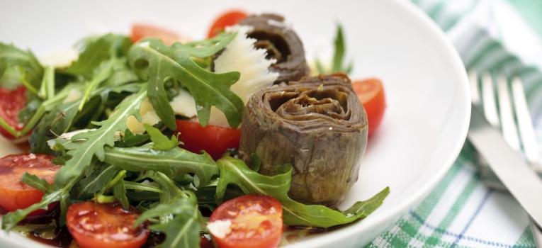 salada de alcachofra