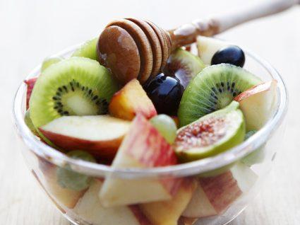 A salada de frutas engorda?