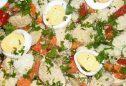 Salada de ovas: 4 receitas saudáveis
