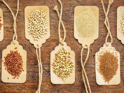 7 Alimentos sem glúten que desconhecia