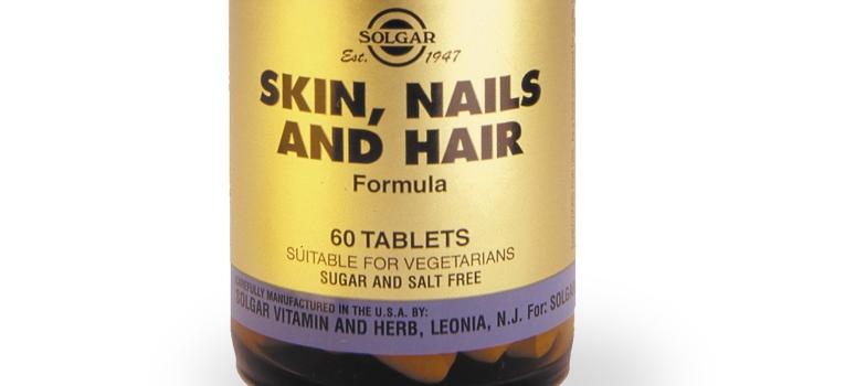 skin, nails and hair solgar