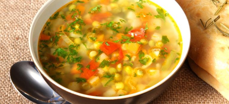 sopa de legumes
