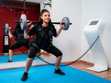 treino com electroestimulacao no ginasio