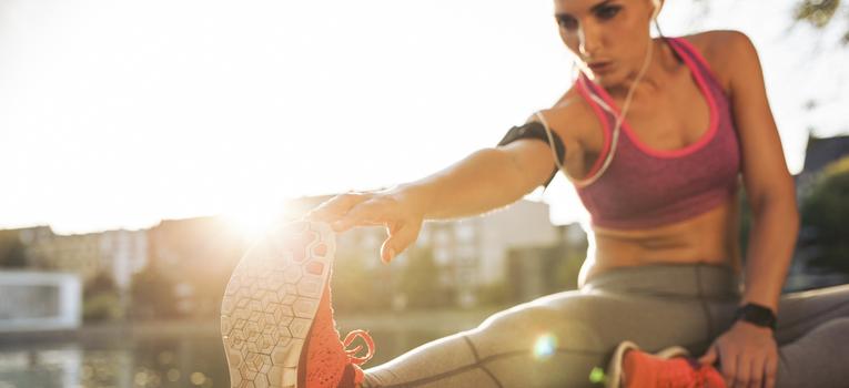 Recuperação muscular alongamentos
