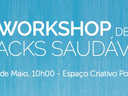 Workshop de Snacks Práticos e Saudáveis Vida Ativa: o primeiro de muitos!