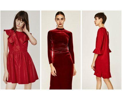 5 vestidos vermelhos para festejar este Natal