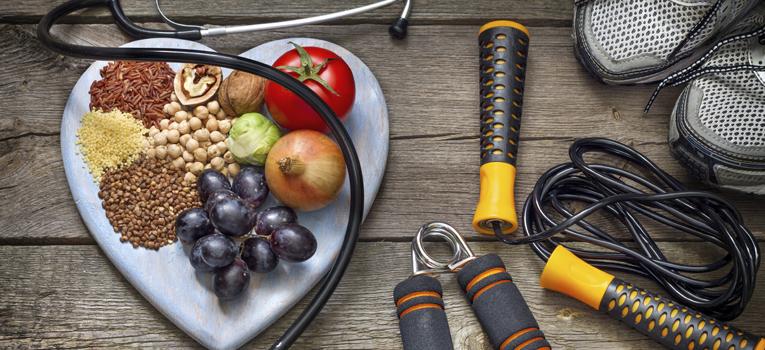 Vida saudável alimentação desporto