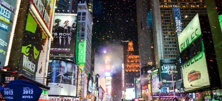 passagem de ano em Nova Iorque