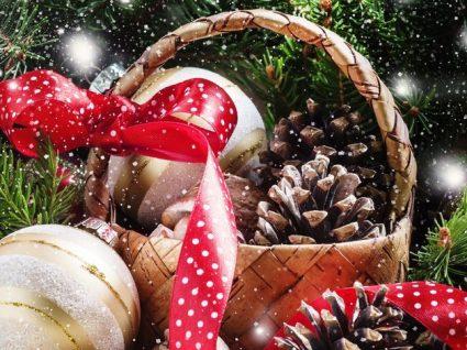 6 Cabazes de Natal baratos para oferecer