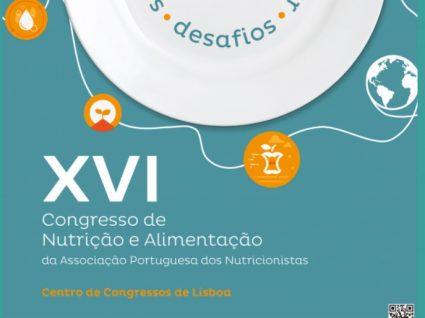 XVI Congresso de Nutrição e Alimentação em Lisboa