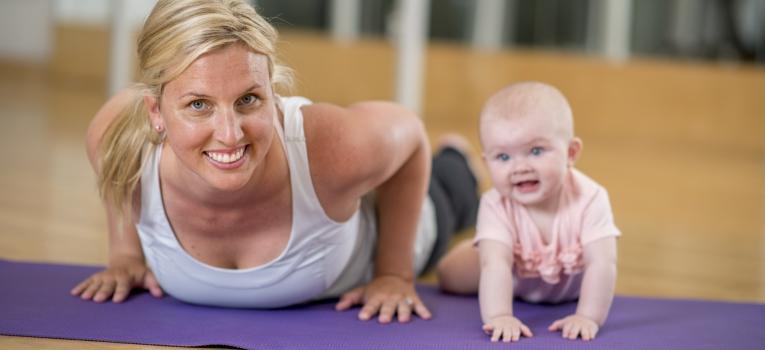 yoga bebes