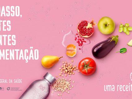 """""""Comer melhor, uma receita para a vida"""": DGS promove alimentação saudável"""